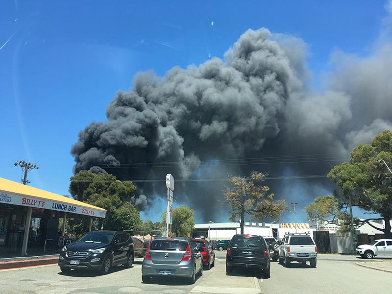 Waste management giant Cleanaway goes up in smoke